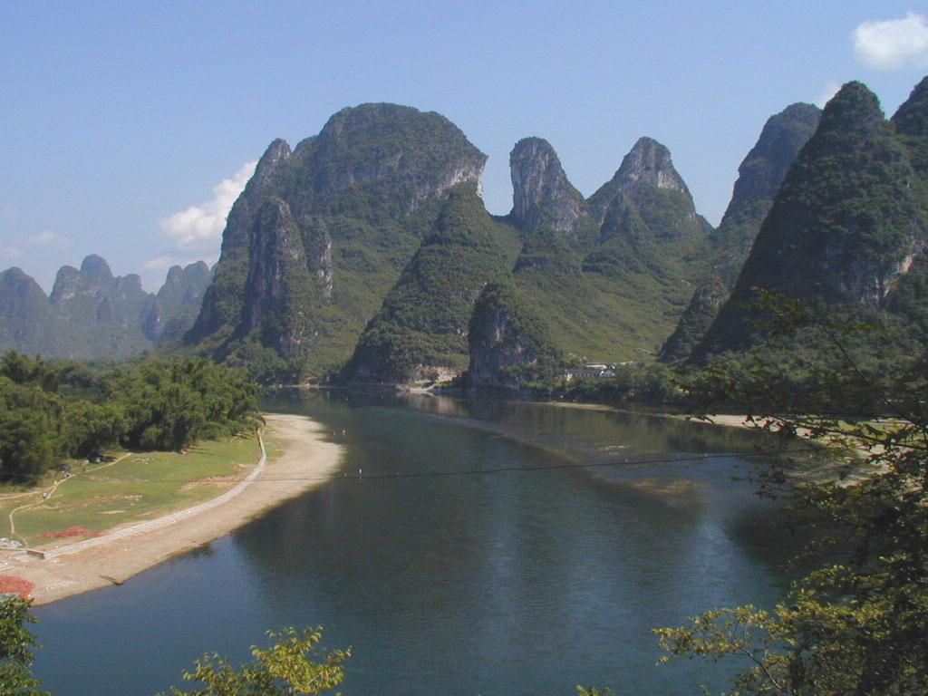 Le sud est de la chine est le site touristique le plus particulier de