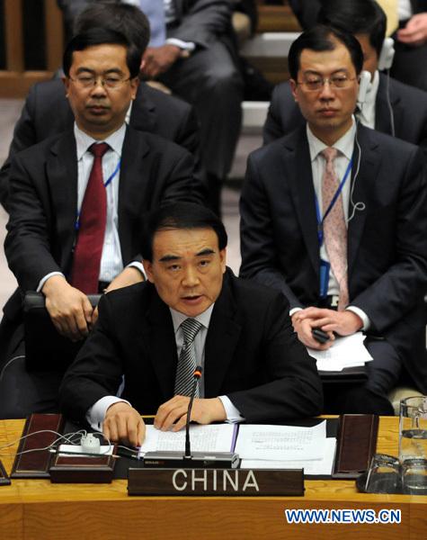 la chine a exprimé mardi sa ferme opposition à l usage de la force ...