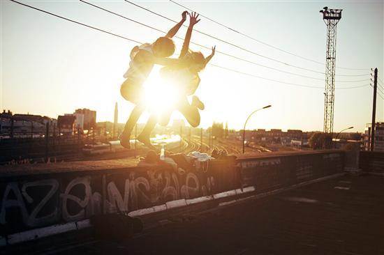 La jeunesse vue par le photographe franais Thé